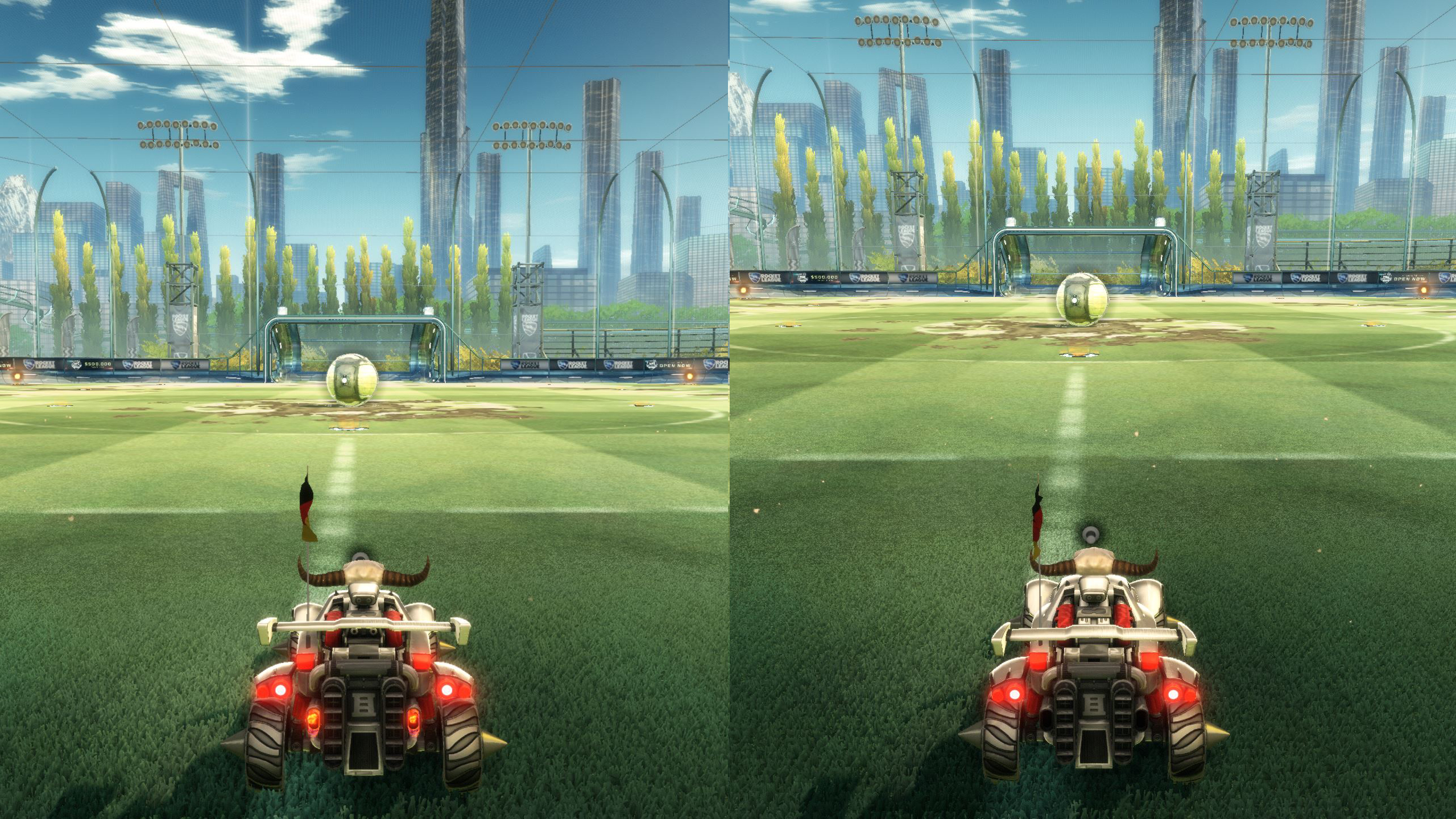 Rocket League Camera Settings Camera Angle