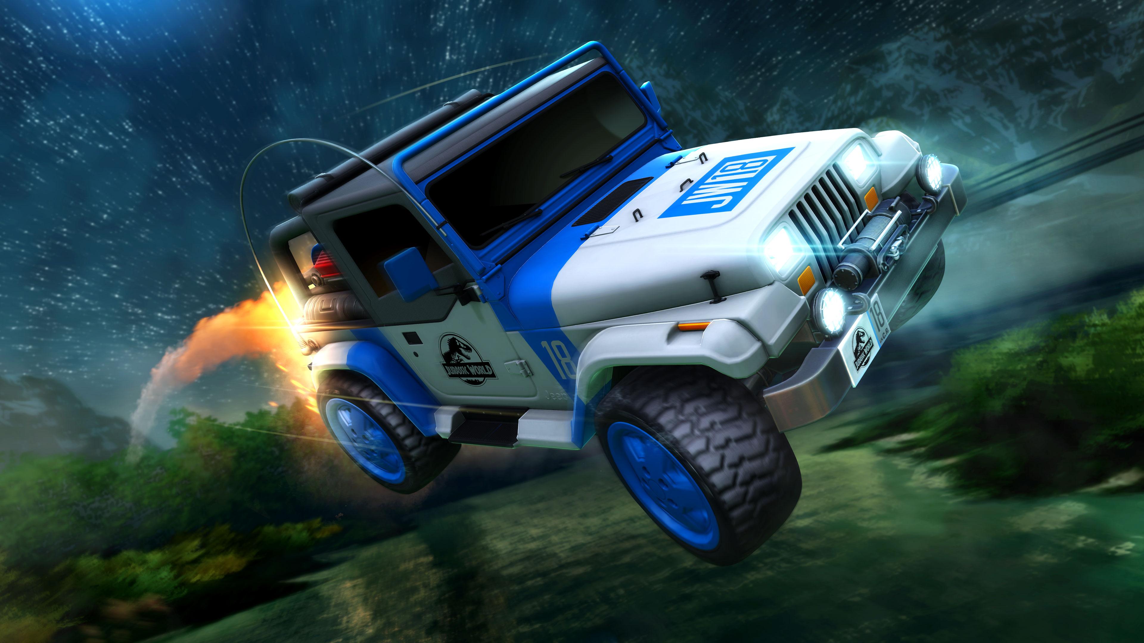 Jurassic World DLC Jeep