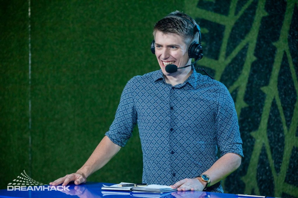 Interview Dreadnaught (Wade Penfold), esports caster